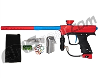 Proto Maxxed Rize Paintball Gun - Red/Cyan
