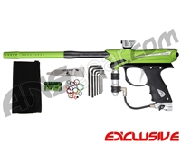 Proto Reflex Rail Paintball Gun - Lime/Silver