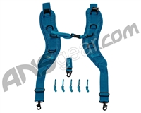 Push Backpack/Gear Bag Strap Kit - Blue