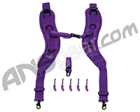Push Backpack/Gear Bag Strap Kit - Purple