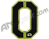 Push Division Velcro Number Patch #0 - Lime