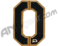 Push Division Velcro Number Patch #0 - Tan