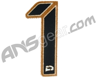 Push Division Velcro Number Patch #1 - Tan