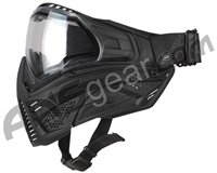 Push Unite Basic Paintball Mask w/ Clear Lens - Black