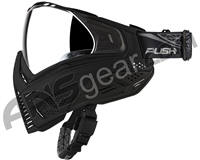 Push Unite Paintball Mask w/ Revo Lens - Black