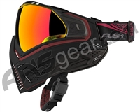 Push Unite Paintball Mask w/ Revo Lens - Black/Red