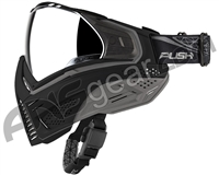 Push Unite Paintball Mask w/ Revo Lens - Black/Grey