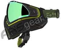 Push Unite Paintball Mask w/ Revo Lens - Black/Lime