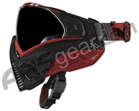 Push Unite Paintball Mask w/ Revo Lens - Black/Red Camo