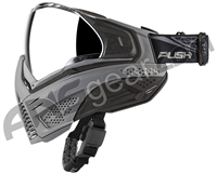 Push Unite Paintball Mask w/ Revo Lens - Grey/Black