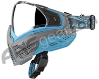 Push Unite Paintball Mask w/ Revo Lens - Grey/Blue
