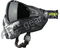 Push Unite Paintball Mask w/ Revo Lens - Infamous Black Skull