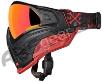 Push Unite Paintball Mask w/ Revo Lens - MDP LE Red/Black