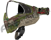 Push Unite Paintball Mask w/ Revo Lens - Predator Camo