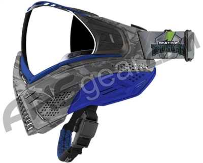 Push Unite Paintball Mask w/ Revo Lens - Seattle Thunder