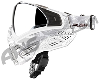 Push Unite Paintball Mask w/ Revo Lens - White Camo