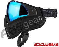 Push Unite Mask - Black w/ Chrome Blue Lens