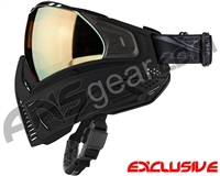 Push Unite Mask - Black w/ Chrome Gold Lens
