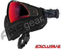 Push Unite Mask - Black w/ Chrome Red Lens