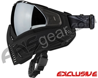 Push Unite Mask - Black w/ Chrome Silver Lens