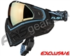 Push Unite Mask - Black/Blue w/ Chrome Gold Lens