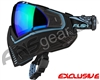 Push Unite Mask - Black/Blue w/ Chrome Green Lens