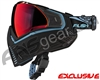 Push Unite Mask - Black/Blue w/ Chrome Red Lens