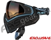 Push Unite Mask - Black/Blue w/ Gradient HD Lens
