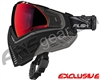 Push Unite Mask - Black/Grey w/ Chrome Red Lens