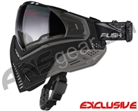 Push Unite Mask - Black/Grey w/ Gradient Clear Lens