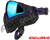 Push Unite Mask - Black/Purple w/ Chrome Blue Lens