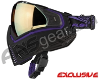 Push Unite Mask - Black/Purple w/ Chrome Gold Lens