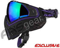 Push Unite Mask - Black/Purple w/ Chrome Green Lens