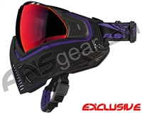 Push Unite Mask - Black/Purple w/ Chrome Red Lens