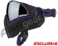 Push Unite Mask - Black/Purple w/ Chrome Silver Lens