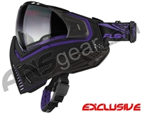 Push Unite Mask - Black/Purple w/ Gradient Clear Lens