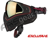 Push Unite Mask - Black/Red w/ Chrome Gold Lens