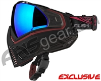Push Unite Mask - Black/Red w/ Chrome Purple Lens