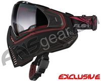Push Unite Mask - Black/Red w/ Gradient Clear Lens