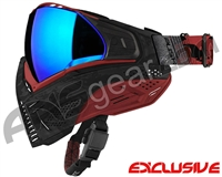 Push Unite Mask - Black/Red Camo w/ Chrome Purple Lens