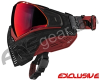 Push Unite Mask - Black/Red Camo w/ Chrome Red Lens