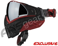 Push Unite Mask - Black/Red Camo w/ Chrome Silver Lens