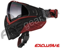 Push Unite Mask - Black/Red Camo w/ Gradient Clear Lens