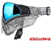 Push Unite Mask - Clear FX w/ Chrome Blue Lens
