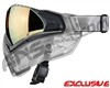Push Unite Mask - Clear FX w/ Chrome Gold Lens