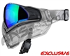 Push Unite Mask - Clear FX w/ Chrome Green Lens