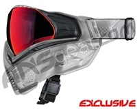 Push Unite Mask - Clear FX w/ Chrome Red Lens