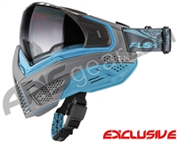 Push Unite Mask - Grey/Blue w/ Gradient Clear Lens