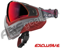 Push Unite Mask - Grey/Red w/ Chrome Red Lens