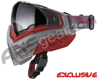 Push Unite Mask - Grey/Red w/ Gradient Clear Lens